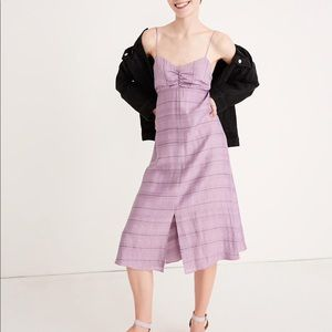 Madewell Tie-back cami dress